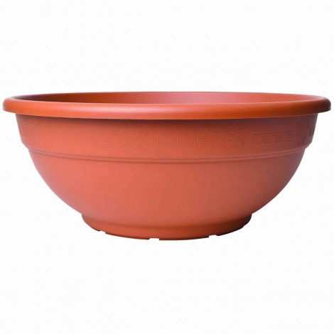 Pot Rond Andromeda Terracotta
