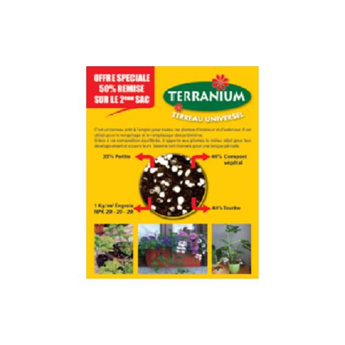 Terranium-Terreau Universel LOT 2